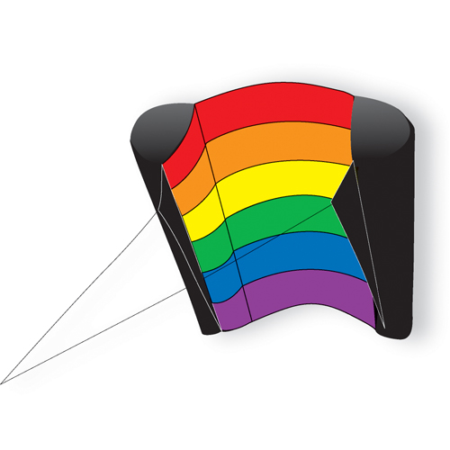 Rainbow Power Sled 14 Kite
