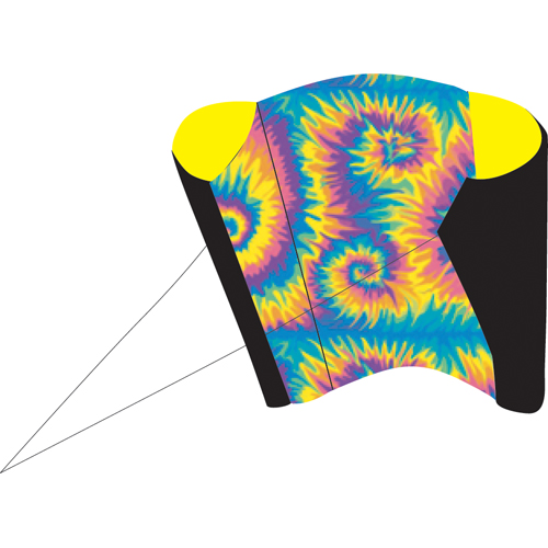 Tie Dye Power Sled 14 Kite